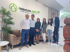 Cambodian property developer - Parc 21, appoints Realestate.com.kh & Fazwaz Cambodia as exclusive marketing & sales partners