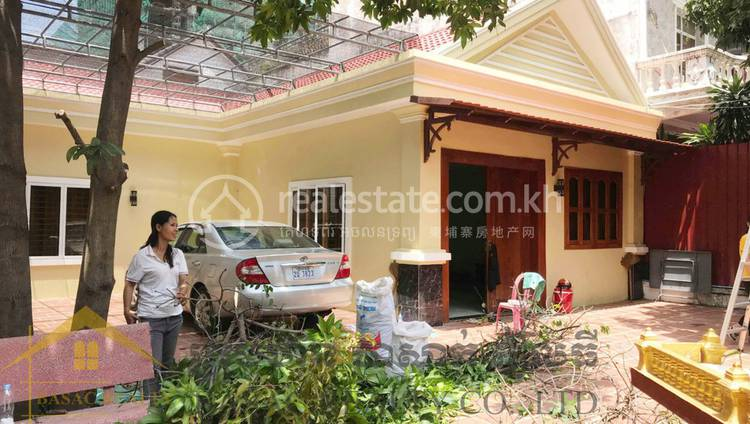 residential Villa for rent in Boeung Kak 1 ID 104301 1
