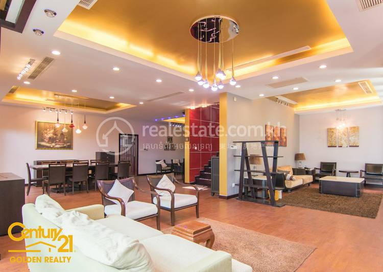 residential Villa for rent in Tonle Bassac ID 108545 1