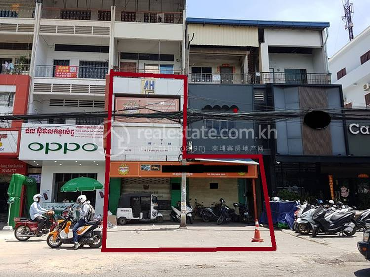 commercial Shophouse for rent in Boeung Salang ID 108546 1