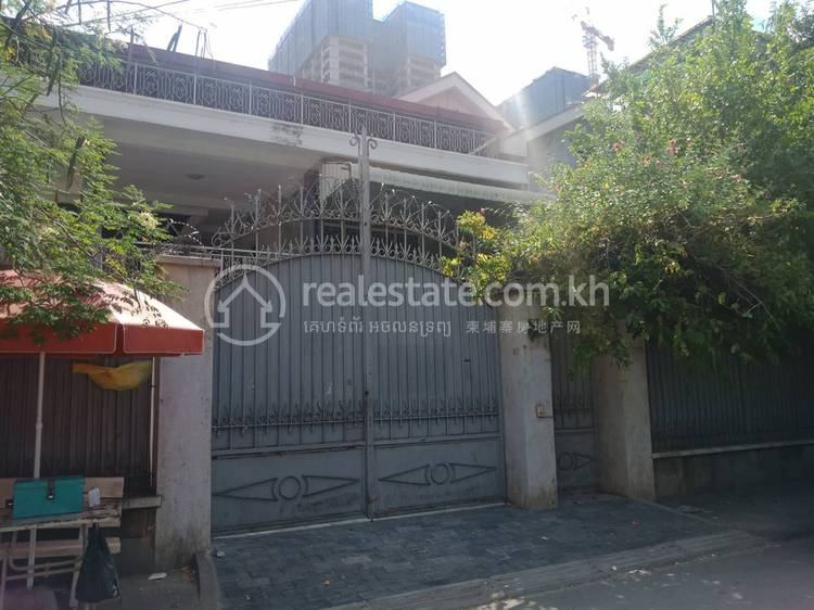 residential Villa for rent in Boeung Trabek ID 108610 1