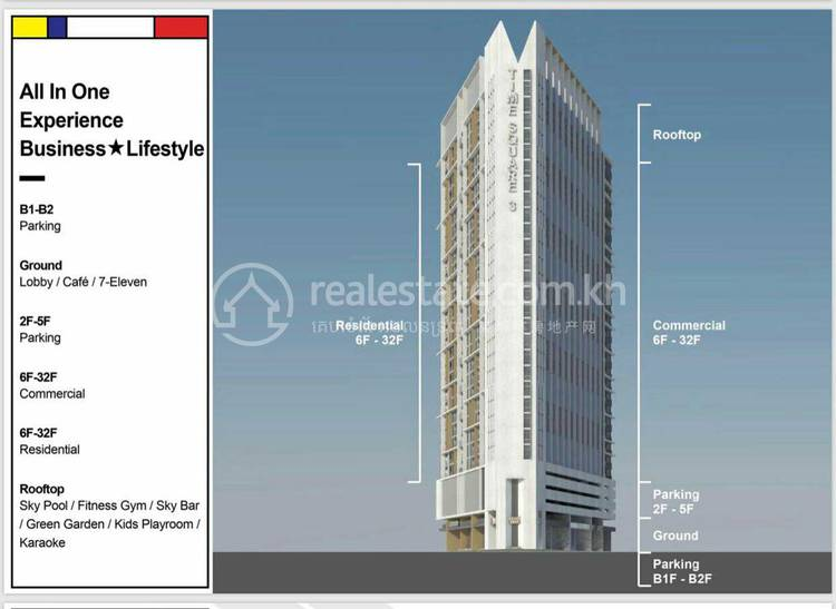 residential Condo for sale in Boeung Kak 2 ID 112272 1