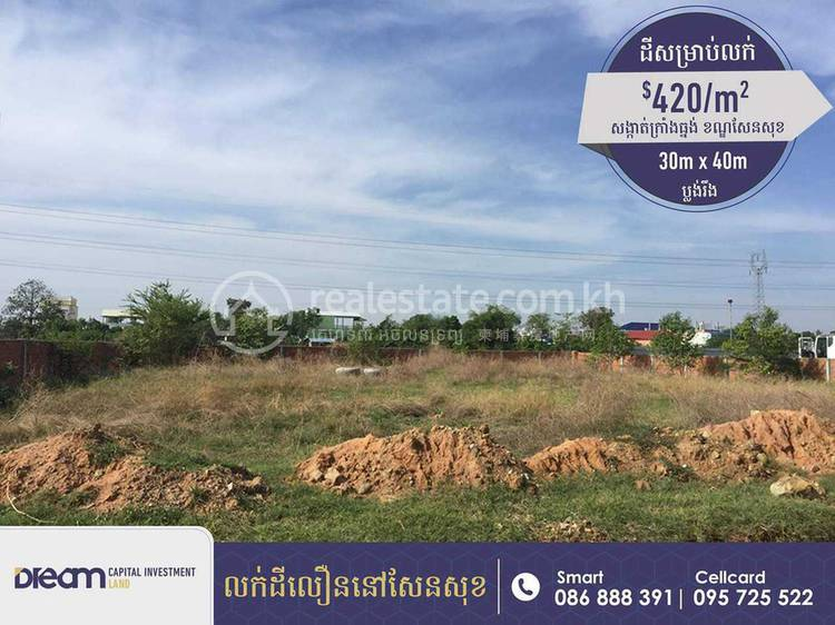 residential Land/Development for sale in Kouk Roka ID 116466 1