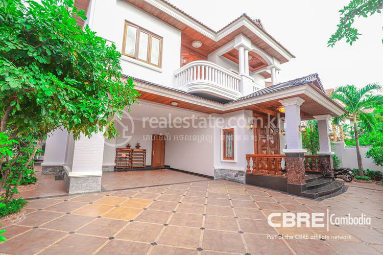 residential Villa for rent in Tonle Bassac ID 117259 1