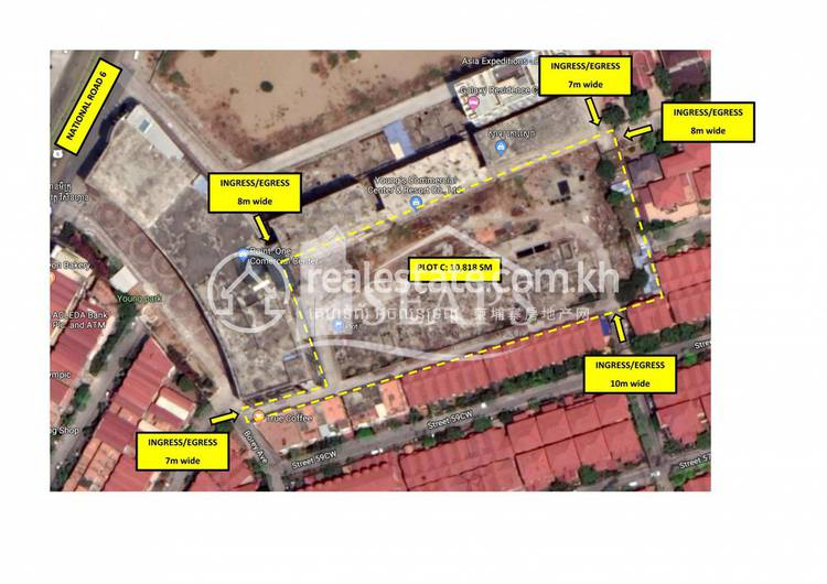 residential Land/Development for sale in Chroy Changvar ID 118788 1