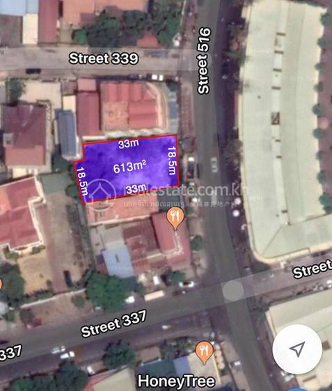 residential Land/Development for rent in Boeung Kak 1 ID 117608 1