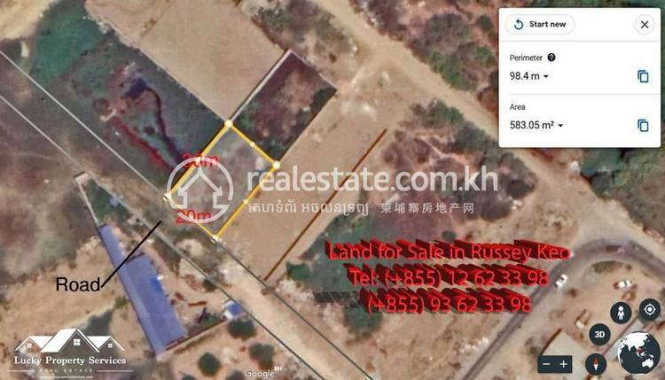 residential Land/Development for sale in Tuol Sangke ID 125685 1
