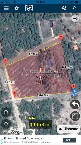 commercial Land for sale in Kampong Chhnang ID 128186 1