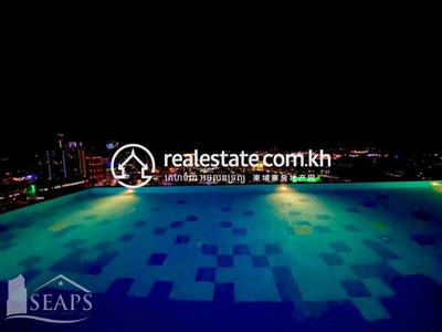 2 Bed, 1 Bath Apartment for Sale in Tonle Bassac