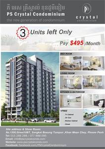 PS Crystal Condominium for sale in Boeung Salang ID 57559
