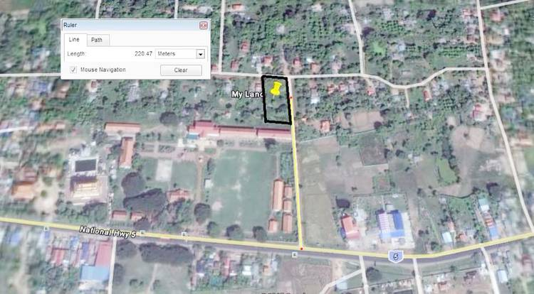 land Residential for rent in Ponhea Lueu ID 27547 1