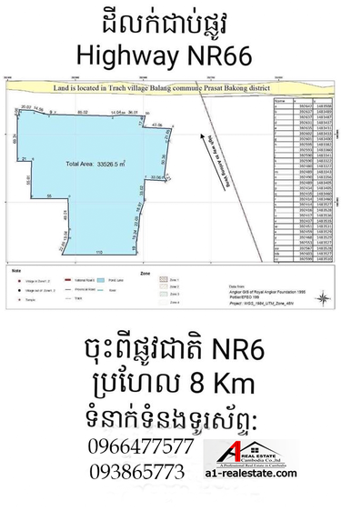 residential Land/Development for sale in Siem Reab ID 86546 1