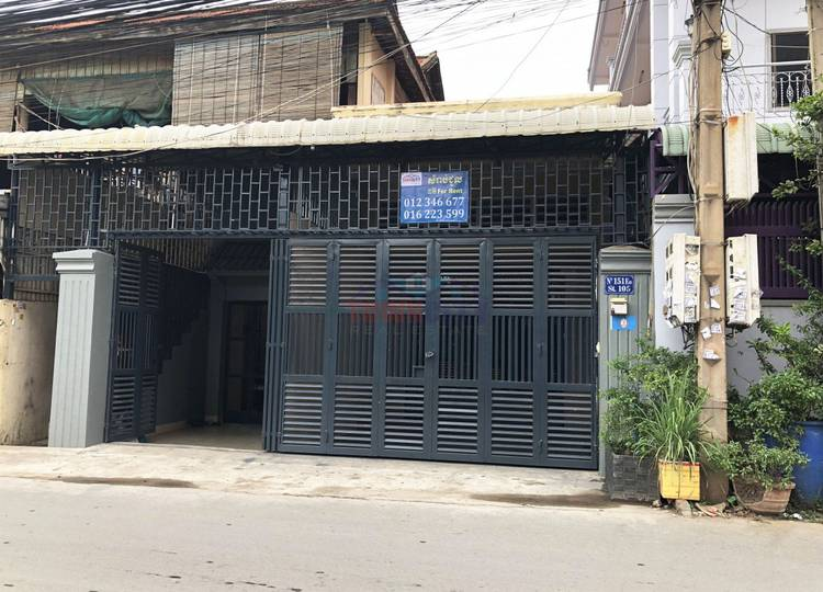 residential House for rent in Boeung Trabek ID 98293 1
