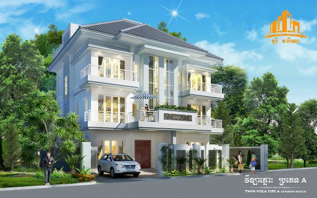 Borey Varina Duong Ngeap for sale in Stueng Mean chey ID 56842 1