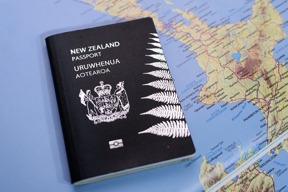 a New Zealand passport