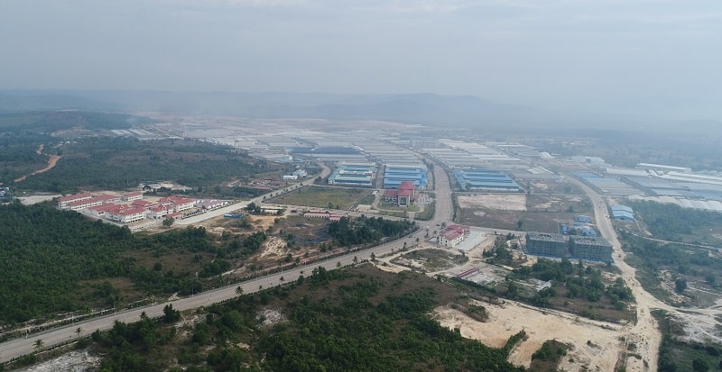 Special economic zone in Sihanoukville