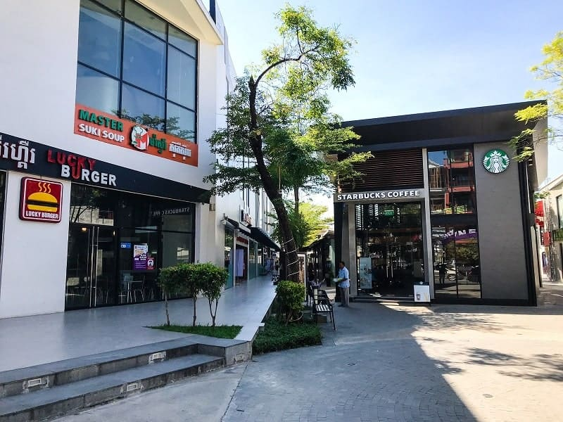 TK Avenue shopping centre Phnom Penh
